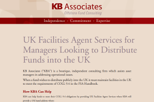 UK Facilities Agent Services For Managers Looking To Distribute Funds Into The UK