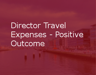 Director Travel Expenses – Positive Outcome