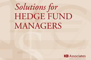 Solutions For Hedge Fund Managers
