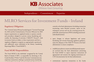 MLRO Services For Investment Funds – Ireland