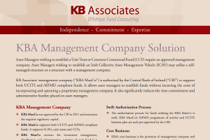 KB Associates' Management Company Solution