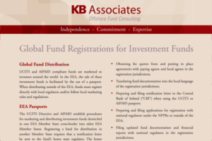 Global Fund Registrations For Investment Funds