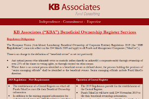 Beneficial Ownership Register Services