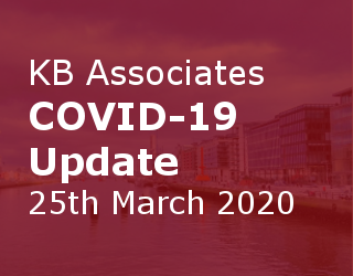 KB Associates COVID-19 Update 25th March 2020