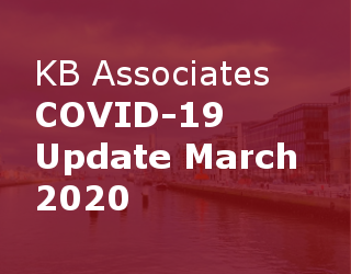 KB Associates COVID-19 Update March 2020