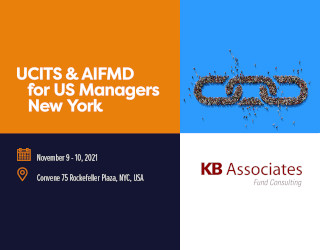 KBA Lead Sponsor: UCITS And AIFMD For US Managers, New York